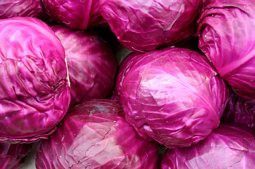 Whole Red Cabbages