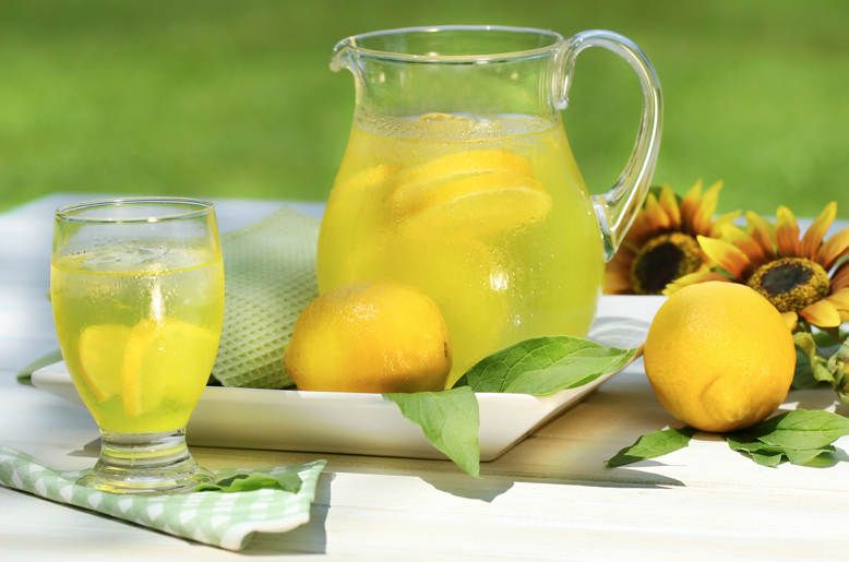 Healthy Natural Lemonade