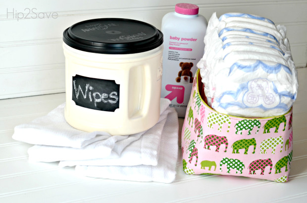 Deluxe Materials to Keep Homemade Baby Wipes with Tissue and Talk on Plastic Bottle