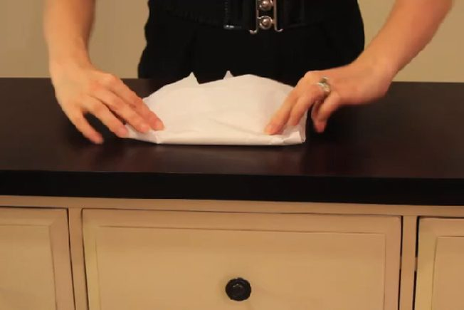 Practice Preserve Bloody Clothing with Save and Put on the White Plastic Paper