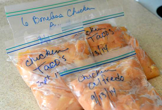 Refrigerating Boneless Chicken Breasts