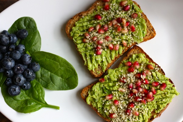 Toast with Avocado Breakfast