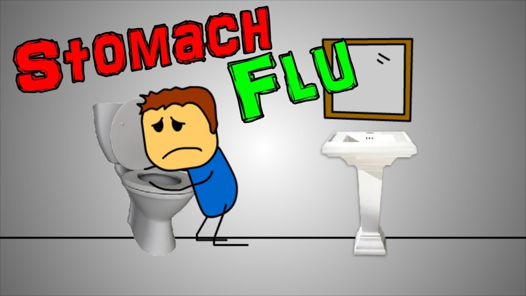 Good Picture To Explain The Effect Of Stomach Virus Flu By Vomit