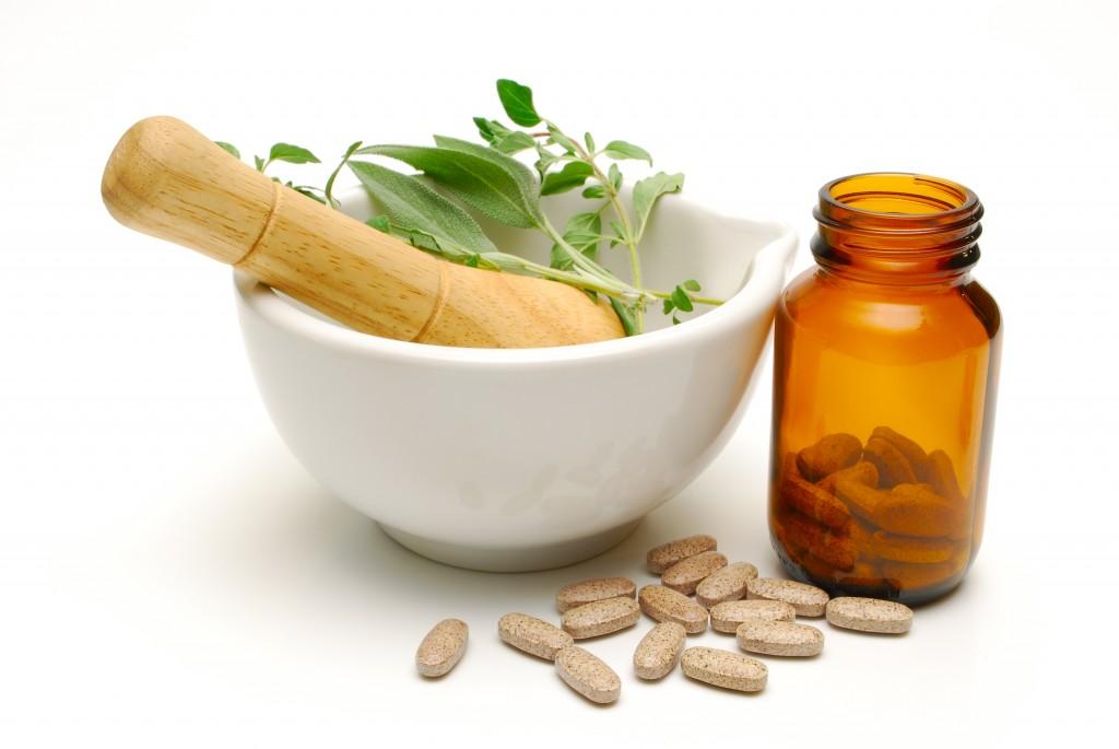 Medicinal Herbs and Tablets