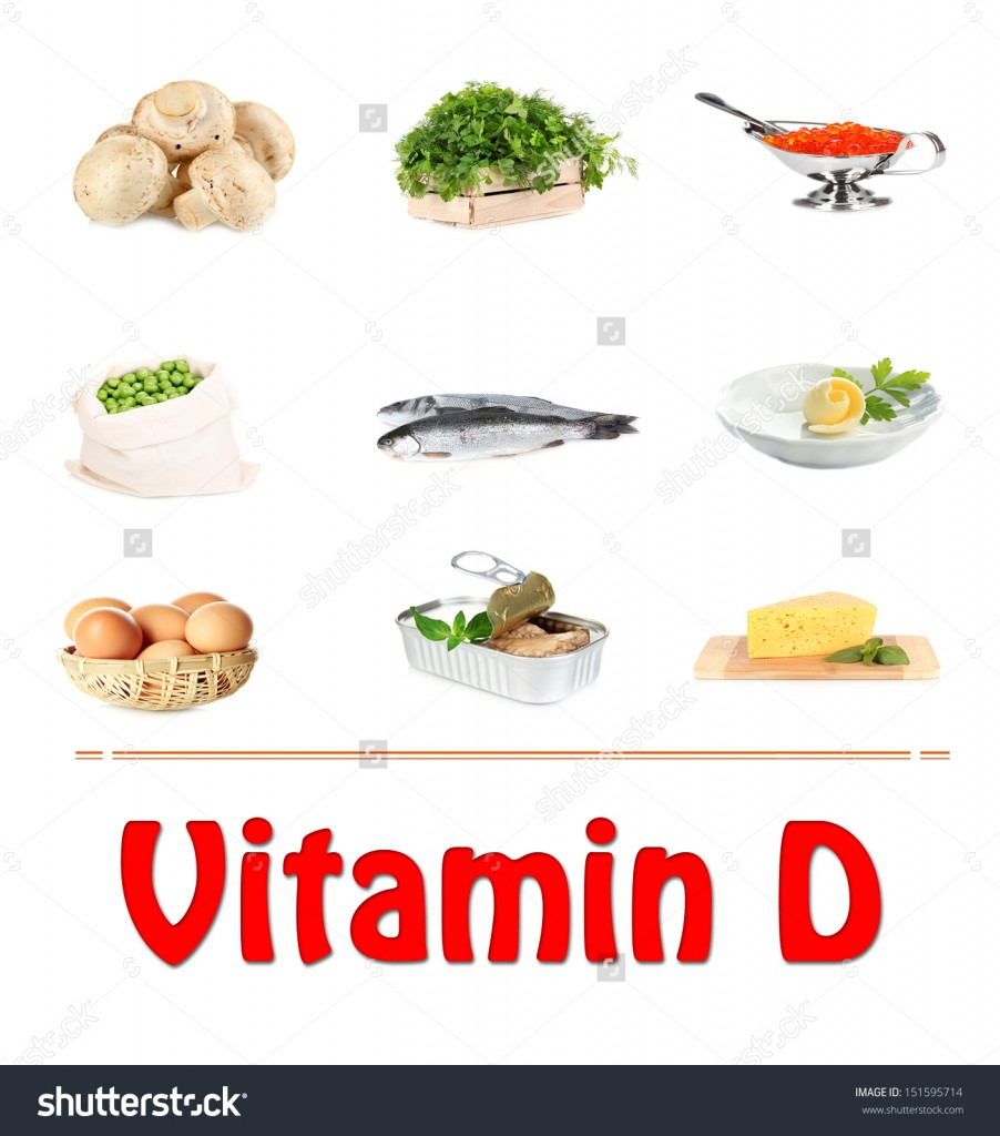 Splendid Vitamin D Foods such as Fish also Vegetables Too Eggs and Bread