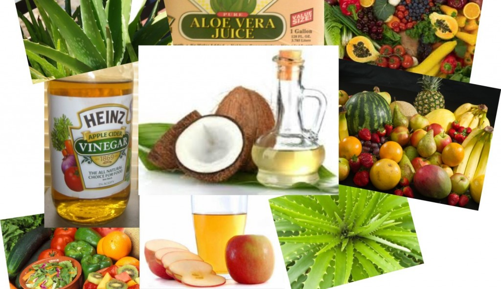 Wonderful Foods Such as Cocunut also Aloe Vera Juice and Fruit For How To Get Rid Of Heartburn (1)