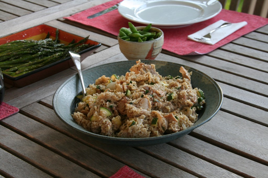 Vegetable Coconut Cumin Rice