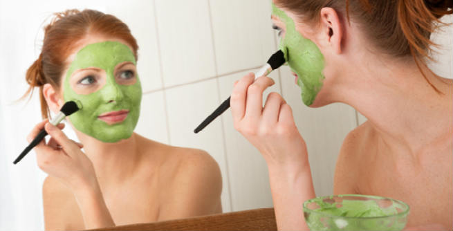 Cucumber Facemask Application