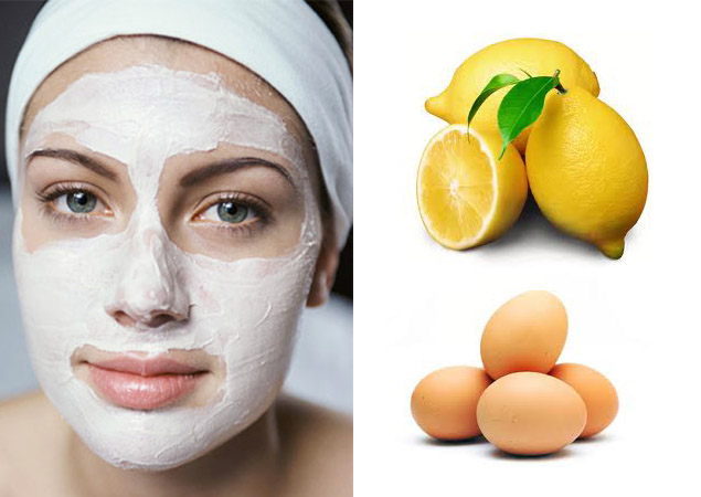 Egg White and Lemon Juice Face Mask