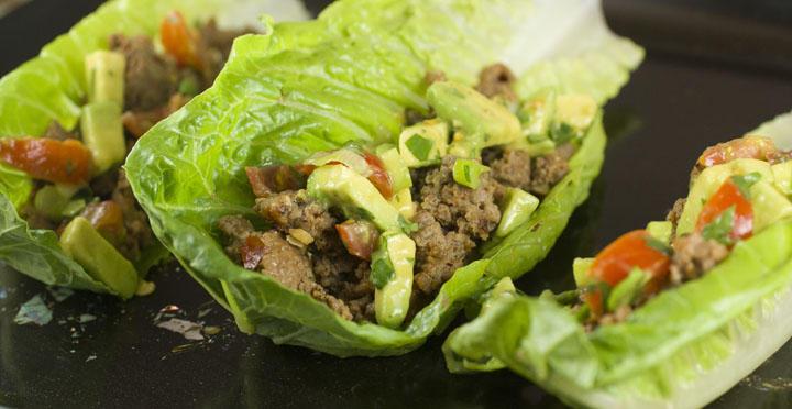 Lettuce Turkey Wrap