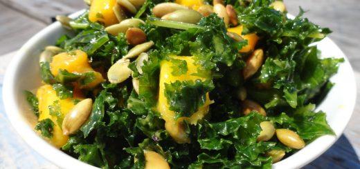 Mango and Kale Salad