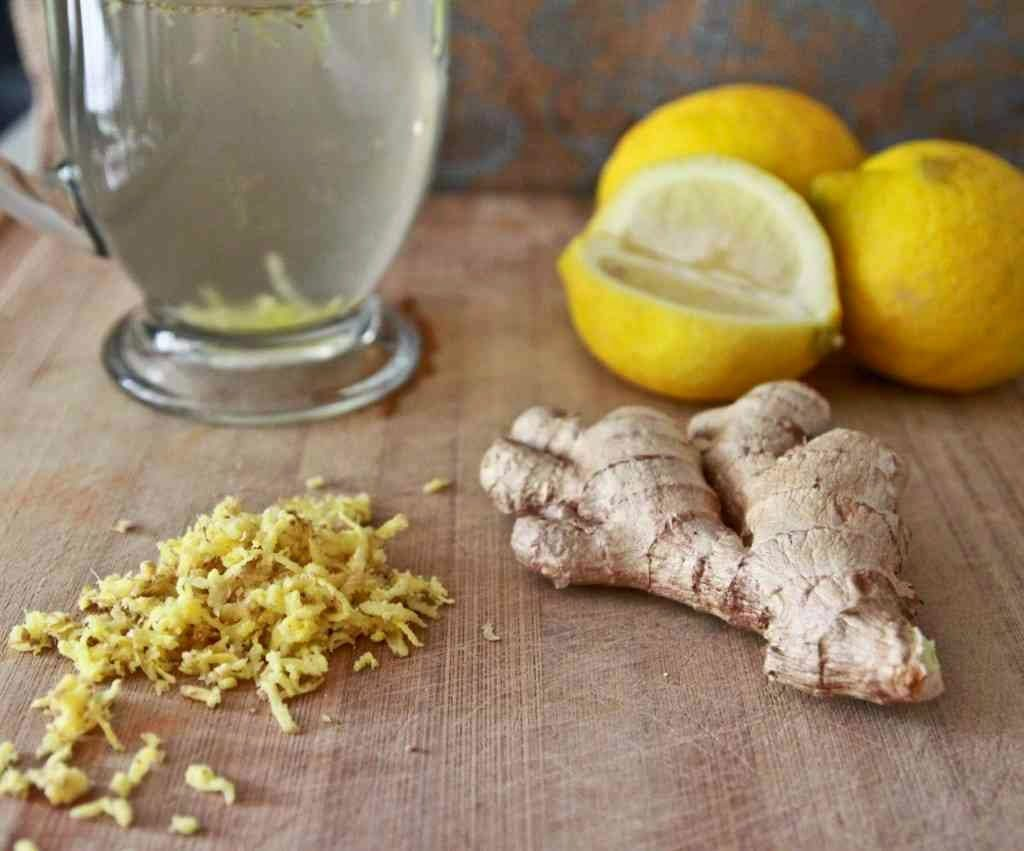 (3) Enjoy the Healthy Drink from Best Home Remedies for Clogged Arteries with Lemon Ginger and other Natural Ingredients