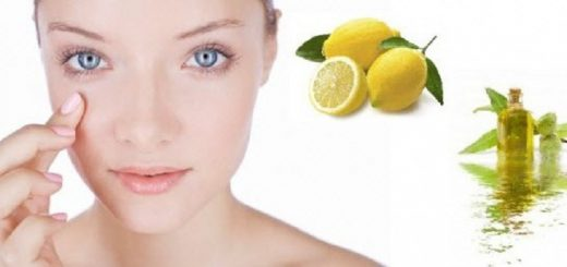 (3) Fresh Lemon and Essential Oil Used in Amazing Home Remedies for Aging Eyes with Daily Application